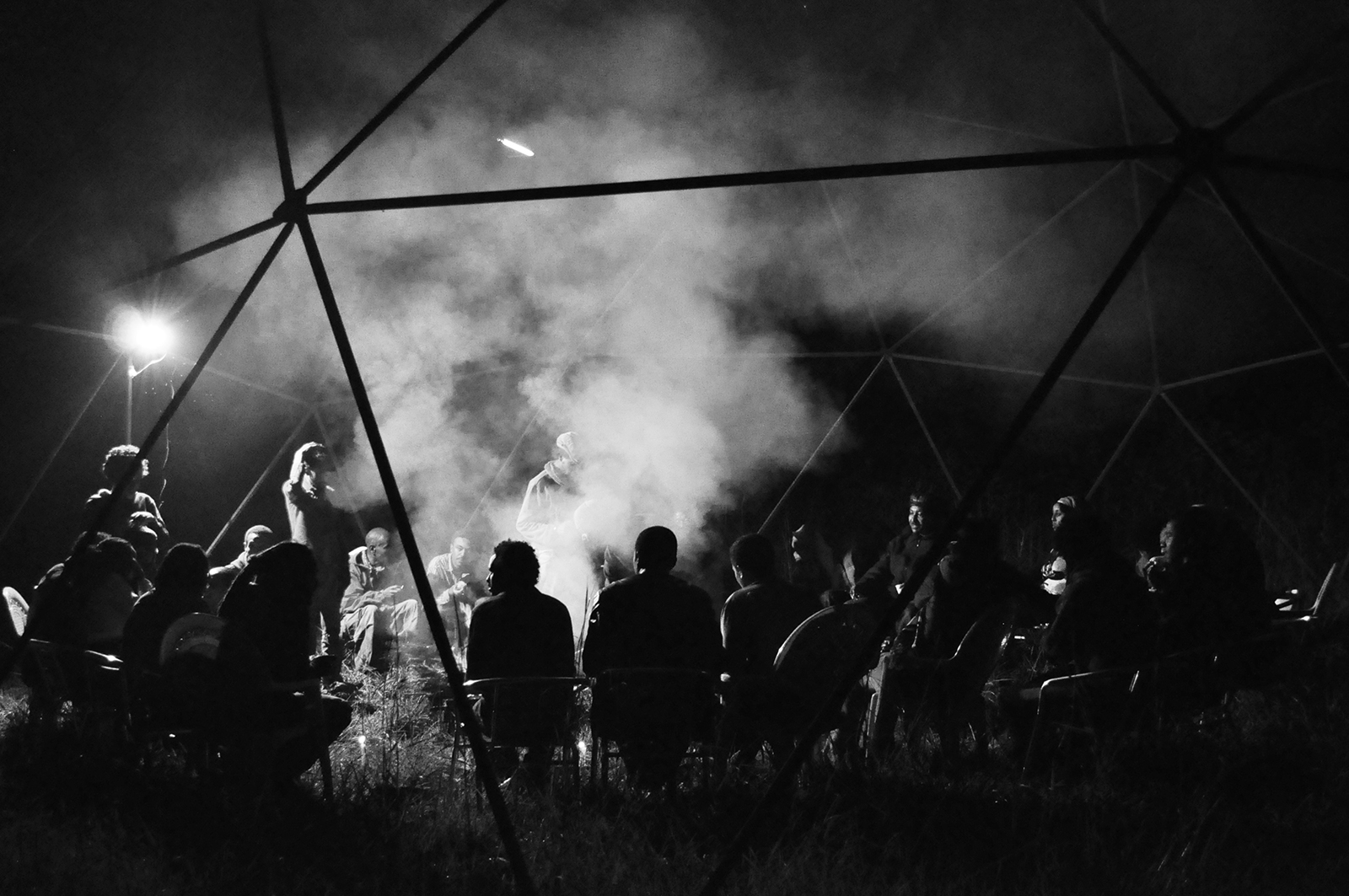 1. Campfire at Netsa Art Village