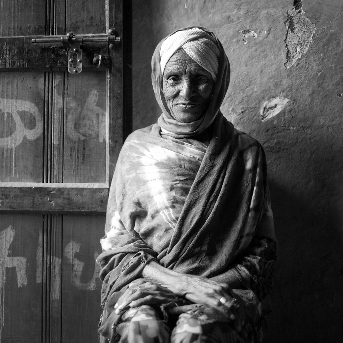 old woman in ButaJira Village-2